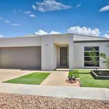 Rental info for Stylish New Home in Mirage Estate in the Mildura area