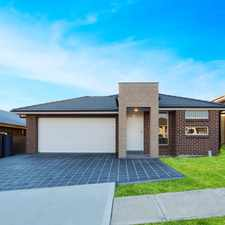 Rental info for LARGE BRAND NEW FAMILY HOME IN A PRESTIGIOUS ESTATE in the Spring Farm area