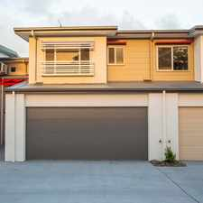 Rental info for NEAR NEW - IMMACULATE - 3 BEDROOM VILLA WITH DOUBLE LOCK UP GARAGE