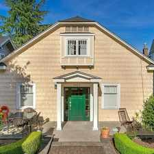 Rental info for $8000 4 bedroom House in Wallingford in the Seattle area