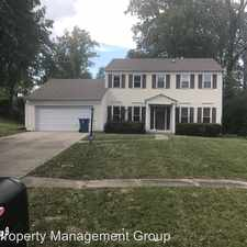 Rental info for 7028 E. 65th Street in the I69-Fall Creek area