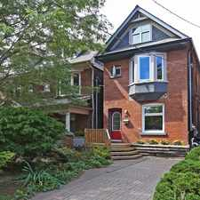 Rental info for 74 Herbert Avenue in the The Beaches area