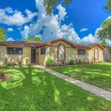 Rental info for 10518 Huff Drive in the Houston area