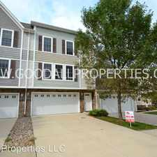 Rental info for 15215 Townsend Ave in the Urbandale area