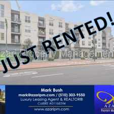 Rental info for Azari PM - ***JUST RENTED*** Beautiful City Oasis, 2nd floor, 2 bed/2 bath condo in Bayview in the Bayview area