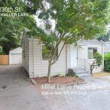 Rental info for 1527 N 130th St in the Haller Lake area