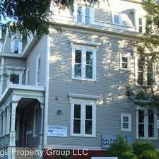Rental info for 387-389 Angell St in the Providence area