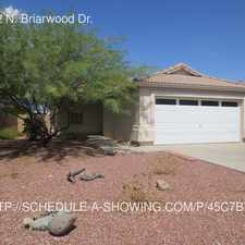 Rental info for 16922 N. Briarwood Dr. in the 85351 area