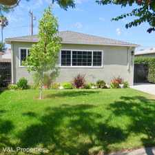 Rental info for 12627 Walsh Ave in the Marina del Rey area