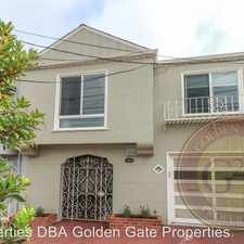 Rental info for 1310 28th Avenue in the Outer Sunset area