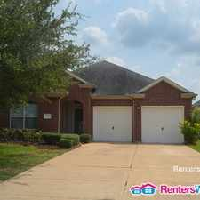 Rental info for 1809 High Falls Ln in the Pearland area