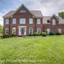 Rental info for 1029 Stagshaw Lane