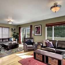 Rental info for Three Bedroom In Other King Cty in the Seattle area