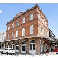 Rental info for 1101 Decatur St. #201 in the New Orleans area