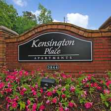 Rental info for Kensington Place Apartments