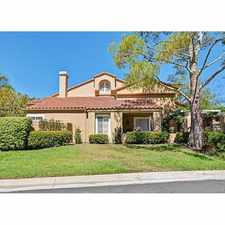 Rental info for 1 Del Rey in the Shady Canyon area
