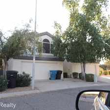 Rental info for 544 S Sunrise Dr in the Gilbert area