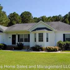 Rental info for 103 Woods Mill Road in the Goldsboro area
