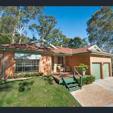 Rental info for ABSOLUTELY STUNNING BUSH HIDEAWAY... in the North Gosford area