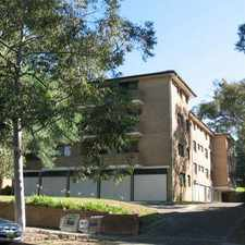 Rental info for ULTRA CONVENIENT TWO BEDROOM UNIT in the Sydney area
