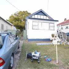 Rental info for FRESHLY PAINTED 2 BEDROOM HOUSE LOCATED JUST 2 MINUTES AWAY FROM WILEY PARK TRAIN STATION AND SHOPS in the Sydney area