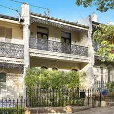 Rental info for Huge 4 Bedroom Terrace in the Heart of Paddington in the Edgecliff area