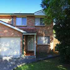 Rental info for Large Town House in the Condell Park area