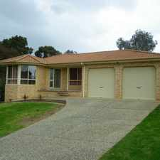 Rental info for Three bedroom home in the Wodonga area