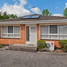 Rental info for LOCATION AND PRIVACY ... THIS UNIT HAS IT ALL in the Bulleen area