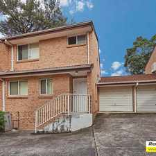 Rental info for 3 Bedroom Unit in the Rydalmere area