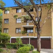 Rental info for OPEN FOR INSPECTION SATURDAY 23RD SEPTEMBER TBA in the Marsfield area