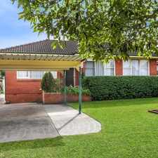 Rental info for Beautiful 3 Bedder in the Albion Park Rail area