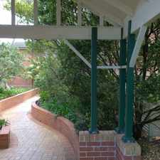 Rental info for IMMACULATE FIRST FLOOR APARTMENT in the Sydney area