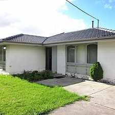 Rental info for Spacious Family Home In A Convenient Location! in the Fawkner area