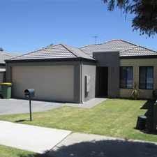 Rental info for LOW MAINTENANCE HOME IN SUPERB LOCATION in the Perth area