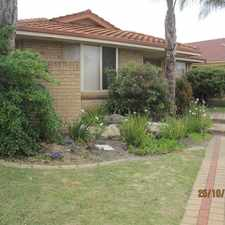 Rental info for Quiet cul-de-sac easy maintained property!!! in the Perth area