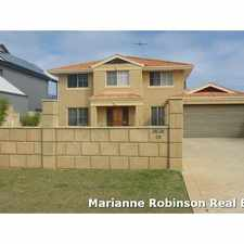 Rental info for 4x2 Spacious Double Story Home with Stunning Scenic Ocean Views in the Mindarie area