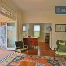 Rental info for CLASSIC PERIOD HOME - UNFURNISHED in the West Leederville area