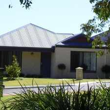 Rental info for Beautiful Family Home! in the Wanneroo area