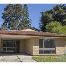 Rental info for DUPLEX FOR RENT IN DIANELLA in the Yokine area