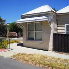 Rental info for Character home in a character location in the West Leederville area