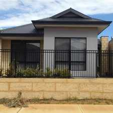 Rental info for Walking distance to Butler Train Station in the Perth area