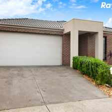 Rental info for INSPIRATION IN THE EDENBROOK ESTATE in the Pakenham area