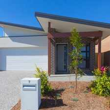 Rental info for BRAND NEW 4 BEDROOM HOME! in the Brisbane area