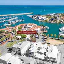 Rental info for Executive and Spacious Waterfront 3x2 Apartmemt in the Mindarie area