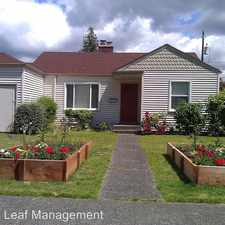 Rental info for 8204 21st. Ave. NE in the Wedgewood area