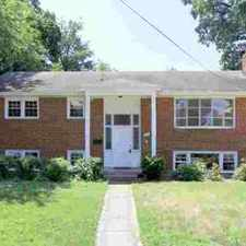 Rental info for 212 North Madison St Arlington Four BR, updated all brick home