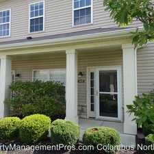 Rental info for 1435 Carylake Circle in the Polaris North area