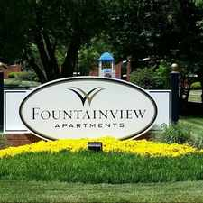 Rental info for Fountainview Apartments in the Baltimore area