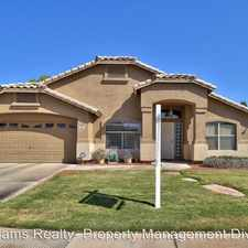 Rental info for 2432 E Nathan Way in the Gilbert area